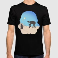 darth Pet-Pet SMALL Black Mens Fitted Tee