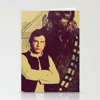 Chewbacca & Han Solo - A… Stationery Cards