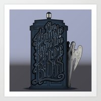 The Angels Have The Phon… Art Print
