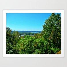 Butler Park Overlook of Kentucky Art Print