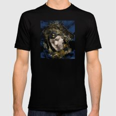MASK OF LOVE (read the description to understand the trick) Mens Fitted Tee Black SMALL