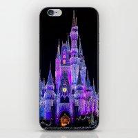Walt Disney World Christmas Lights iPhone & iPod Skin