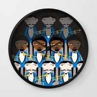 And All That Jazz Wall Clock