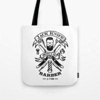 Jack Knife Tote Bag