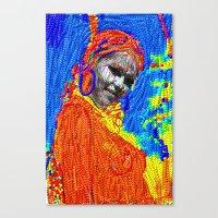 African Girl Canvas Print