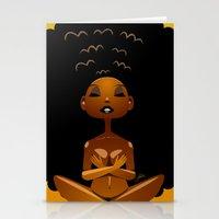 Spiritual AfroGirl Stationery Cards