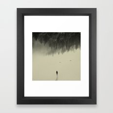 Silent Walk Framed Art Print