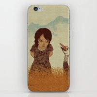 Lost in Thought  iPhone & iPod Skin