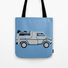 Back to The Future DeloreVan Tote Bag