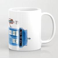 Doctor Wholington, Pumpkin Time Lord King! Mug