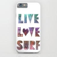 Live Love Surf - I iPhone 6 Slim Case