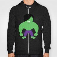 Emo Hulk Hoody
