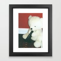 Why are good people depressed? Framed Art Print