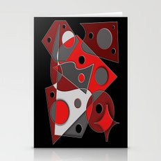 Abstract #321 Stationery Cards