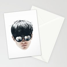 Sea Boy Portrait Stationery Cards