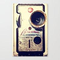 Brownie 8mm Canvas Print
