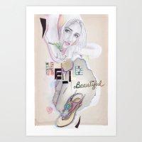 Hello, beautiful! Art Print