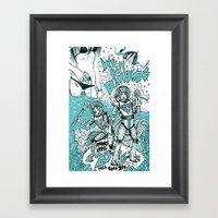 We Buy Diamond$ Framed Art Print