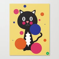 kitcat Canvas Print