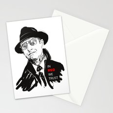 In RED we TRUST Stationery Cards