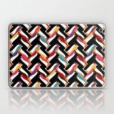 herringbone penguin Laptop & iPad Skin