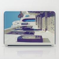 Santorini Walkway V iPad Case