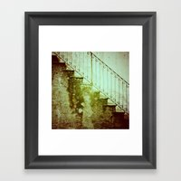 Stairs II Framed Art Print