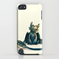 iPod Touch Cases featuring Toothless by Alice X. Zhang