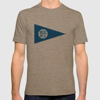 Minneapolis City Flag Un… Mens Fitted Tee Tri-Coffee SMALL