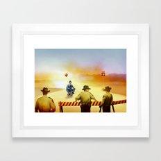 texas exile Framed Art Print