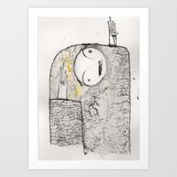 unquestioning faith of a story we heard as children, exit we Art Print