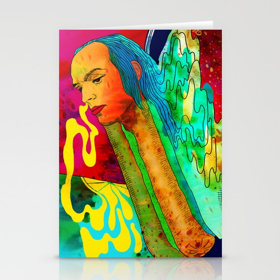 """""""Lux"""" by Steven Fiche Stationery Card"""
