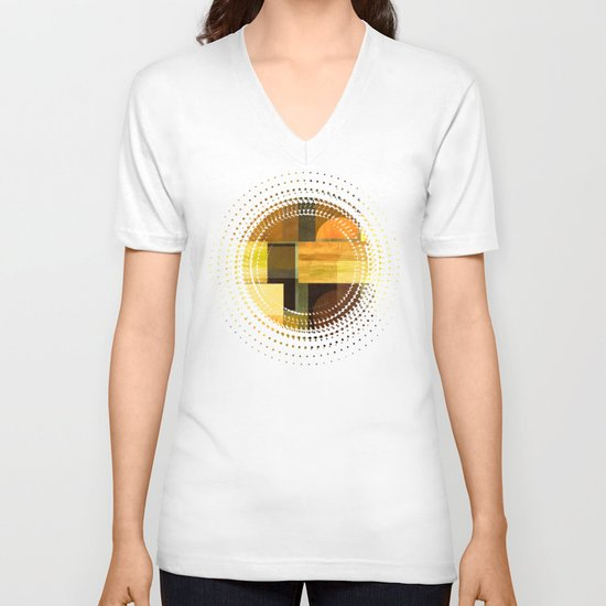 Textures/Abstract 92 V-neck T-shirt