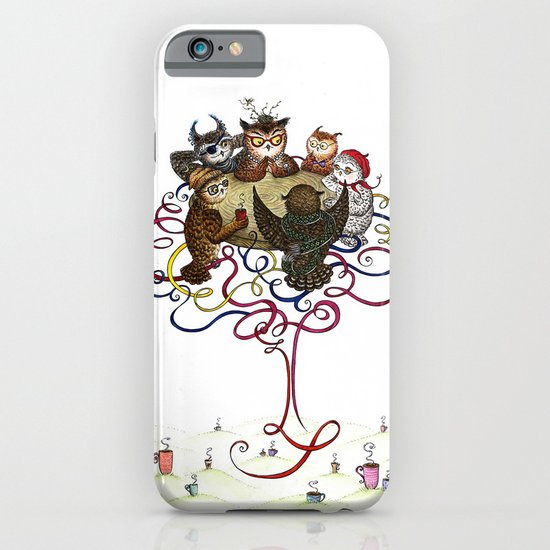 Art School Owl Assembly iPhone & iPod Case