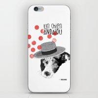 Un chien andalou iPhone & iPod Skin