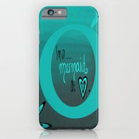 Mermaid At Heart iPhone 6 Slim Case
