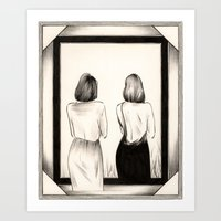 The Mirror Art Print