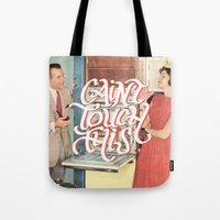 Cain't Touch This Tote Bag