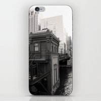 Black And White Chicago … iPhone & iPod Skin