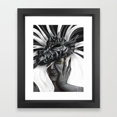 Dragon Woman Framed Art Print