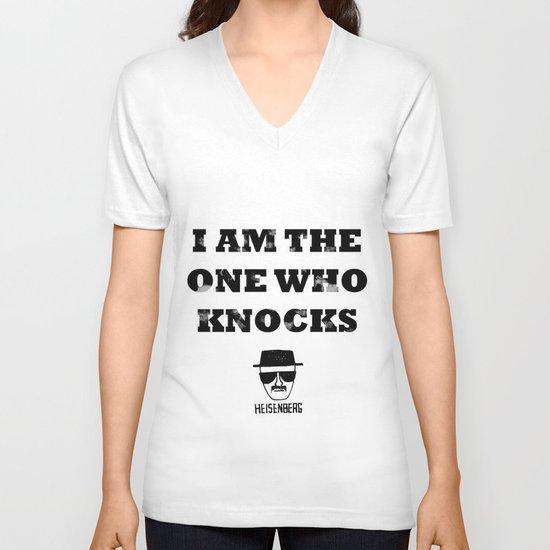 Heisenberg - The One Who Knocks V-neck T-shirt