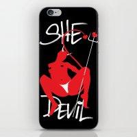 She Devil iPhone & iPod Skin