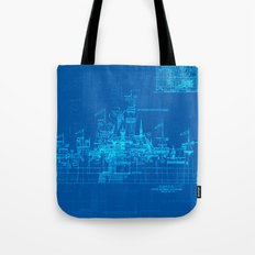 Sleeping Beauty Castle Tote Bag