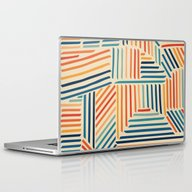 Laptop & iPad Skin featuring Strypes by Fimbis