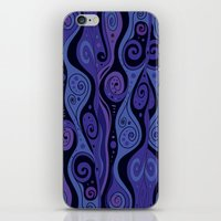 Surreal Waves iPhone & iPod Skin