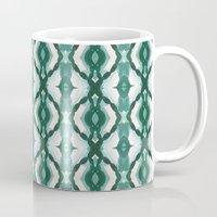 Watercolor Green Tile 1 Mug