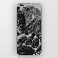 Bear Art iPhone & iPod Skin