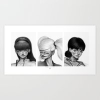 Powerpuff Girls Art Print