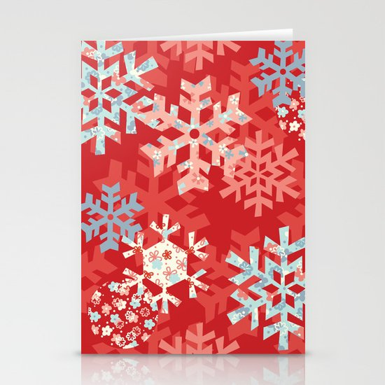 Snowflake Dream Stationery Card