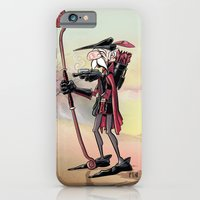 iPhone & iPod Case featuring The Venerable Archer by David Finley